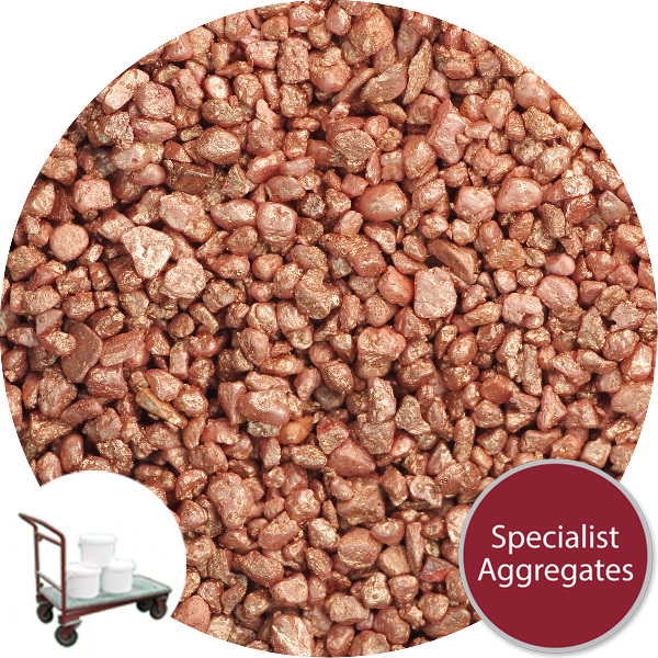 Rounded Gravel Nuggets - Copper Colour - Click & Collect