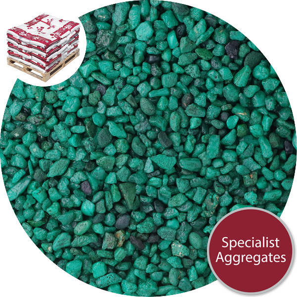 Rounded Gravel Nuggets - Holly Green