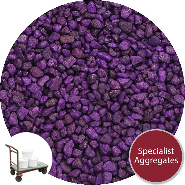 Rounded Gravel Nuggets - Royal Purple - Click & Collect