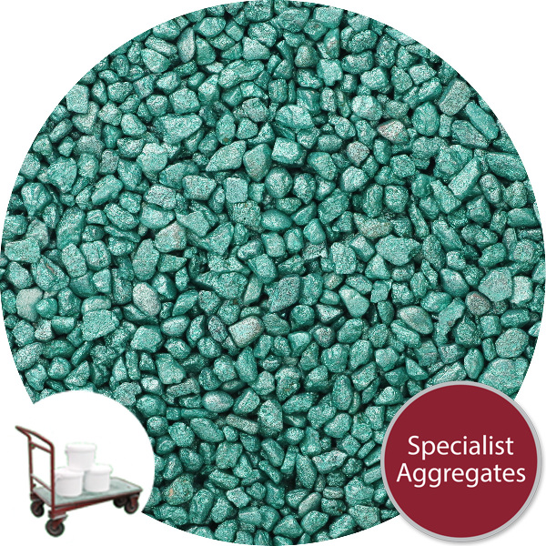Rounded Gravel Nuggets - Starburst Green - Click & Collect