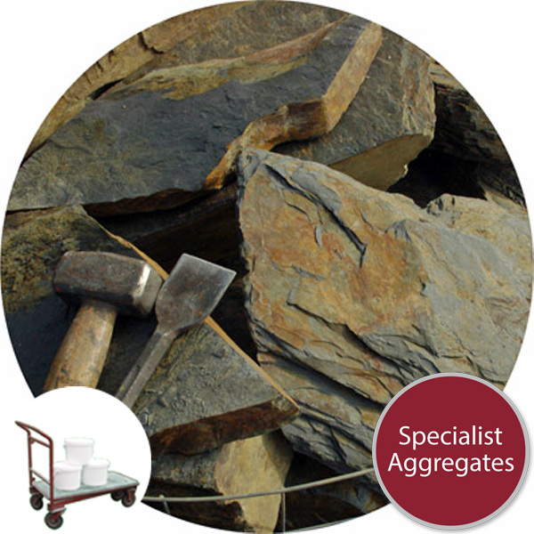 Rustic Slate Rockery - Click & Collect