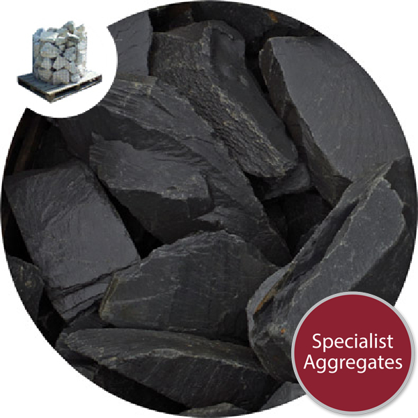 Welsh Slate Rockery - Black