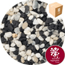 Aquarium Gravel - Natural Squid Black - 7103