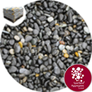 Bridport Black Granite Gravel - Kiln Dried - 5-8mm
