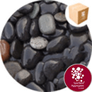 Bridport Volcanic Black Gravel 25-75mm