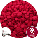 Calico Marble - Berry Red - Click & Collect