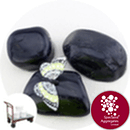 Chinese Cobbles - Polished Black Granite - Click & Collect