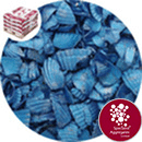 Coloured Sea Shells - Crushed Starburst Blue - 8964