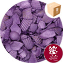 Coloured Sea Shells - Crushed Starburst Violet - 8965