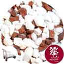 Dashing - Red & White - 3-8mm - Click & Collect