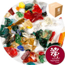 Enviro-Glass Crush - Mixed Colour - 7612/CR