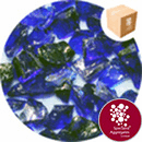 Enviro-Glass Gravel - Cobalt Blue