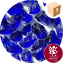 Enviro-Glass Large Gravel - Cobalt Blue