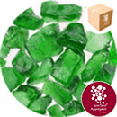 Enviro-Glass Large Gravel - Emerald Green Crystal