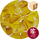 Enviro-Glass Large Gravel - Golden Amber