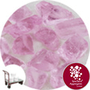 Enviro-Glass Large Gravel - Pink Crystal - Click & Collect