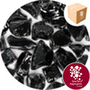 Enviro-Glass Large Gravel - Volcanic Black