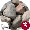 Glacial Boulders - Small Rounded - Full Crate - Click & Collect