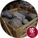 Glacial Boulders --11 Medium/Small Rounded