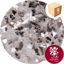 Glass Glitter - Metallic Silver - 7790/M