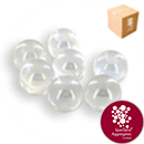 Glass Marbles - Lustered Crystal - Medium