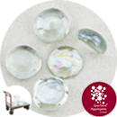 Glass Nuggets - Lustered Crystal - Click & Collect - 9101