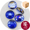 Glass Nuggets - Lustered Dark Blue - Design Pack