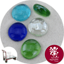 Glass Nuggets - Ocean Mix - Click & Collect