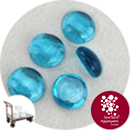 Glass Nuggets - Turquoise Blue - Click & Collect