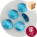 Glass Nuggets - Turquoise Blue - Design Pack