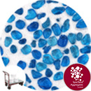 Glass Pea Gravel - Aqua Blue - Click & Collect - 9124