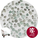 Glass Pea Gravel - Clear - Click & Collect - 9126