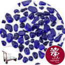 Glass Pea Gravel - Dark Blue - Click & Collect - 9123
