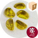 Glass Stones - Citrus Yellow