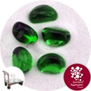 Glass Stones - Forest Green - Click & Collect