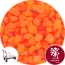Marble - Day Glo - Orange - Collect