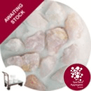 Quartz Gravel - Rose Pink - Large - Click & Collect