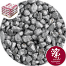 Rounded Gravel - Silver Coloured - 7340