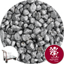 Rounded Gravel - Silver Coloured - Click & Collect