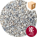 Rounded Gravel Nuggets - Floral White