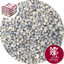 Rounded Gravel Nuggets - Floral White - 7372
