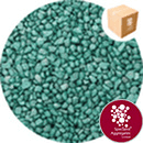 Rounded Gravel Nuggets - Starburst Green