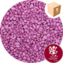 Rounded Gravel Nuggets - Starburst Pink