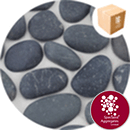 Shoreline River Pebbles - Dark Grey Granite 20-40mm