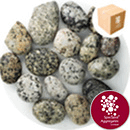 Shoreline River Pebbles - Light Grey Granite 20-40mm