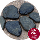 Shoreline Stepping Stones (Tobi - Ishi) - Black