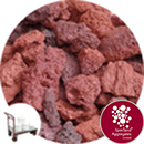 Volcanic Lava Rock - Red Lapillus - Click & Collect