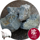 Welsh Green Granite Rockery - Click & Collect