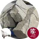 Yorkstone Rocks - 3 Large Angular - Click & Collect - 1946