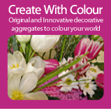 Create With Colour | Decorative Coloured Aggregates and Sand